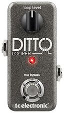 TC Electronic*DITTO LOOPER*Guitar Effects Pedal Sampler FREE 2 DAY SHIPPING NEW