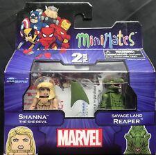 Marvel Shanna the She-Devil & Savage Land Reaper Minimates 2 Pack