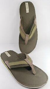 Teva Pajaro Dune Flip Flops Olive Gray Sandals Mens Size 12 / 45.5EU New 6178