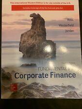 Fundamentals Of Corporate Finance 12th Edition Ross Westerfield Jordan Mcgraw
