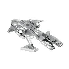 Fascinations Metal Earth 3D Laser Cut Steel Puzzle Model Kit - HALO UNSC PELICAN