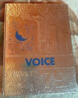 Vintage The Voice Stamford NY High School 1979 Yearbook