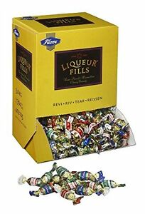 Fazer LIQUEUR FILLS Rum Punch Cherry Brandy Filled Chocolates Bulk Candy