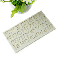 Russian Alphabet Letters Silicone Fondant Mold Chocolate Cake Decorating Too JC
