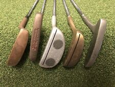 Lot of 5 Vintage Collective Putters - Arnold Palmer, Ray Cook