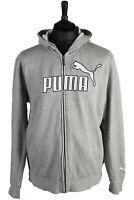 Vintage PUMA Rain Coat Coat Jacket Retro - Grey - Size L - SW1560