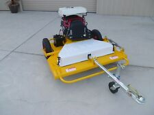 Tow Behind Slasher ATV Quad Bike Mower Tractor TOW AND MOW