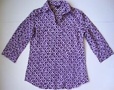 35f548582c78e Talbots Geometric 100% Silk Tops   Blouses for Women for sale