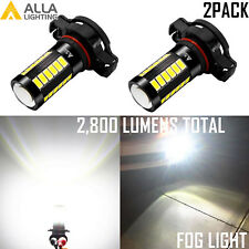 Alla Lighting PSX24W 2504 33-LED Driving Fog Light 6000K Pure White Replace Lamp