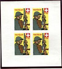 Switzerland Soldier5 Territorial-Truppen  382/4 Schweiz Soldatenmarken 40