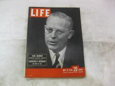 Life Magazine May 10th 1948 Earl Warren Churchill's Memoirs Publisher Time mg248