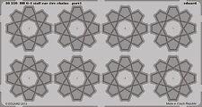Eduard #36250 1/35 DB G-4 Staff Car Tyre Chains Detail Set for ICM (2 Sheets)