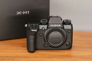 MINT Fujifilm X-H1 24.3 MP Digital Mirrorless Camera Fuji XH1 Boxed Body Black