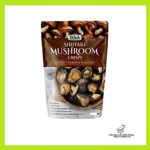 DJ&A Shiitake Mushroom Crisps 150g Chip Snack