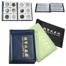 60 Coins Collecting Penny Money Pockets Storage Album Book Holder Case Folder