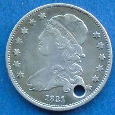 1831 Capped Bust Quarter, Very Fine Details