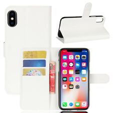 Magnetic Flip Leather Wallet Pouch Folding Case For iPhone X 7 8 5 SE 6 6s Plus
