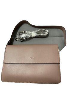 Angela Roi Hamilton Crossbody Bag NWT Ash Rose!!