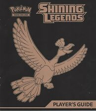 POKEMON SHINING LEGENDS PLAYER'S GUIDE WITH COMPLETE SET CHECKLIST - HO-OH