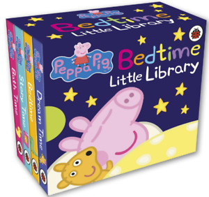 Gift Toy Child Stories  Bedtime Pepa Pig  Library Board Book  Kids,Toddlers Baby