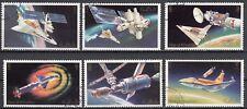 Ras al-Khaima 752 - 757 gestempelt Skylab - Programm