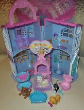 FISHER PRICE SWEET STREETS PET PARLOR XRAY ANIMAL GROOMING SALON BUILDING LOT