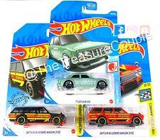 Hot Wheels 2021 - Lot of 3 - '71 Datsun 510 - Datsun Bluebird Wagon - B70