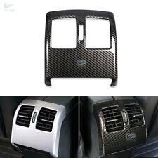 Carbon Fiber ABS Rear Air Condition Outlet Trim Cover For Mercedes Benz W204