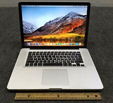 """Apple MacBook Pro A1286 MD103LL/A 2012 15.4"""" Laptop i7-3615QM, 8GB, 256GB SSD"""
