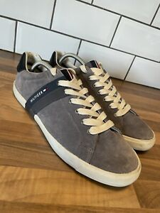 Tommy Hilfiger Mens Volley 5B Suede Leather Low Tops Trainers Size UK 10