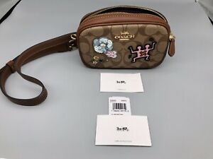 Coach New York Belt Bag Fanny Pack RARE $298