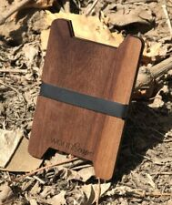 SLIM WOOD WALLET / CARD HOLDER