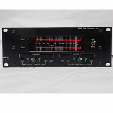 MKS INSTRUMENTS TYPE 286 THERMOCOUPLE VACUUM GAUGE CONTROLLER, POWERS UP.