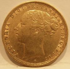 Australia 1883 S Gold Sovereign St George Sydney Mint XF - AU