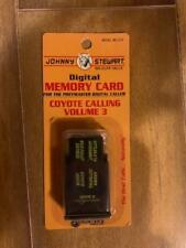 Johnny Stewart Digital Memory Card Coyote Calling Volume 3, Preymaster Caller
