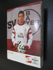66892 Ulf Kirsten DFB Bayer Leverkusen 90er original signierte Autogrammkarte