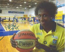 Astou Ndour Signed 8x10 Photo Wnba Basketball Spain Espana Chicago Sky Free Ship