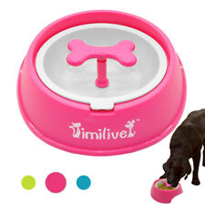 Slow Feeder Interactive No-slip Dog Bowl Cat Eating Food Pet Feeder Cup Dish
