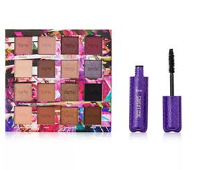 NIB Tarte Glamazon Colors 16 Eye Shadows & Mascara Set $50!