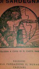 1927 (Sardegna) ARTISTI POETI e PROSATORI di SARDEGNA (in foto elenco artisti)