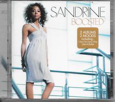 SANDRINE - Boosted (2 x CD) 15TR Soul pop House 2008 Belgium