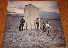 THE WHO WHO'S NEXT ORIGINAL LP ROCK & ROLL!