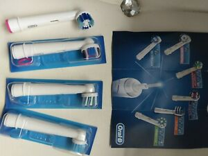 Oral B Toothbrush Heads X 4 New