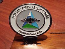 Transpirenaica meeting Morgan Sport Car Club Spain in 2008.