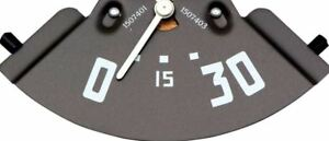 OER Oil Pressure Gauge 0-30 Pounds With White Needle 1952-1953 GMC Pickup Truck