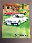 1979 Triumph TR7 MG MGB Jaguar XJ6 Factory Car Accessories Brochure Catalog
