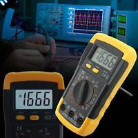 LCD Auto Range A/DC Digital Voltmeter Ammeter Ohmmeter Multimeter Volt Tester @M
