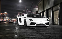 CAPRISTO AVENTADOR NEW A3 CANVAS GICLEE ART PRINT POSTER