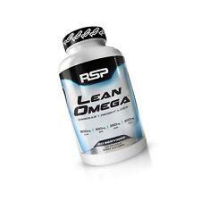 RSP LeanOmega Fish Oil CLA Capsules, High EPA & DHA Omega-3 + CLA for Heart H...
