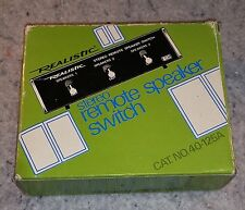 Realistic Stereo Remote Speaker Switch Vintage 40-125A  NEW......(C16B1).......